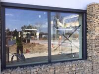 2 Double glazing frame with glass