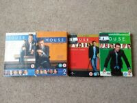 House (DVD) Series 1-4 Complete