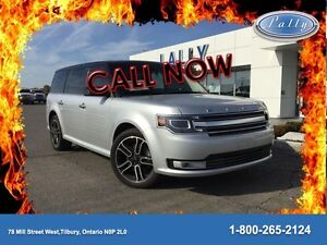 2014 Ford Flex Limited, Roof, Nav, Leather, AWD!!