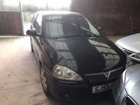 Vauxhall CORSA 1.2 SXI SPORT 2006 BLACK £845