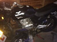 2 project 125 motorbikes