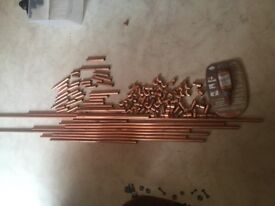 Copper pipe and fittings bundle