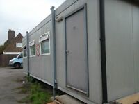 Two large Porta Cabins for sale