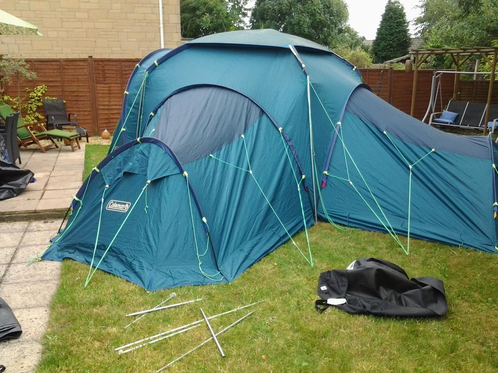three bedroom tent coleman quadspace tent sleeps upto 9 in 3 separate 13525