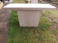 Arthur Llewellyn Jenkins Stone Console Table