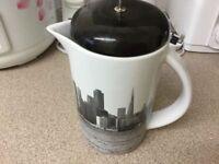 Ceramic coffee machine in very good condition
