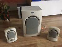 2 + 1 Altec Lancing speaker