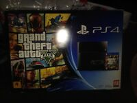 Playstation 4 500g with gta 5 mint condition 150