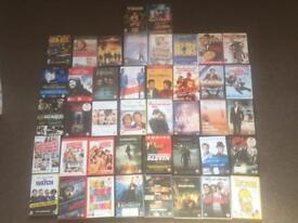 Job Lot of 42 DVDs All In Good Condition