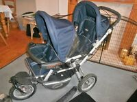 DOUBLE BUGGY & ACCESSORY EXTRAS by JANE POWERPRO
