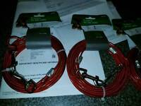 6x dog cables 4x9 2x6 meter 4x9 meter tie out