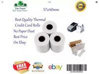 Cheap 57mm X 40mm Credit Card Machine Rolls