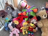 Various teddies £1 each