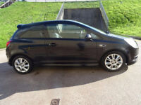 VAUXHALL CORSA 1.4 DESIGN 16V 3d AUTO 90 BHP HALF LEATHER** PRIVA (black) 2007
