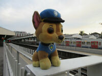 LOST 'Chase' PAW Patrol TY Beanie Boo - South Kensington