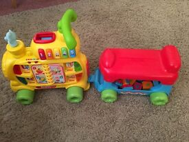 Fisher price ride on train