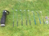 Children's half size golf clubs