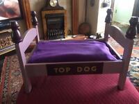 Beautiful dog bed