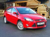 2014 Focus Zetec 1.6 TDCi, Ford Warranty, Low Mileage, FSH, Six Speed, £20 RFL