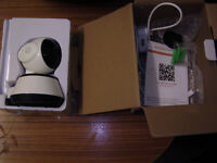 WI-FI CAMERA NEW BOXED FOR USE WITH ADROID AND IPHONES IOS.