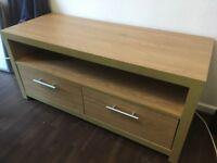 Ikea TV stand - sideboard oak effect