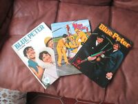 Blue Peter Annuals x3