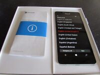 Unlocked, mint condition Microsoft Lumia 950 Windows 10 Smartphone (White)
