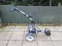 motocaddy S3 DIGITAL electric golf trolley,new battery,new charger,good used condition