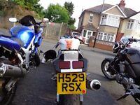 3 Bikes for sale - Suzuki SV650 - Suzuki GSXR400 - HondaCBF500 £2450 for all 3