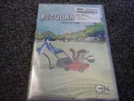 Brand new, REGULAR SHOW season one dvd