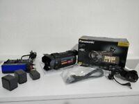 Panasonic HC-VXF990EBK 4K Ultra HD Camcorder Built In WIFI new!!! + extras