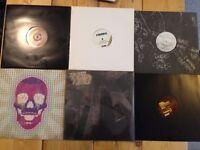 """6x Dubstep Vinyl Records, Brand New ex Shop Stock 1xLP 5x 12"""" singles"""