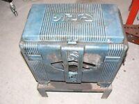 Cast iron wood burner
