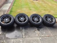 BMW Style 66 alloys with Continental winter tyres