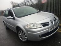 RENAULT MEGANE SPORT ESTATE 1.6VVT PETROL DYNAMIQUE 2008(58) FULL SERVICE HISTORY PANORAMIC SUNROOF