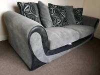 3 seater Grey sofa from DFS like new