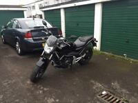 Honda nc700s abs model, full mot, a2 licence compliant