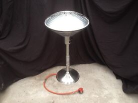 Table top patio heater like new!