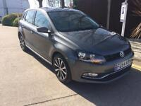 2014 VW POLO GREY 1.2 MATCH EDITION PETROL 1 YEAR MOT CAT C LOW MILEAGE 9468 IMMACULATE CONDITION