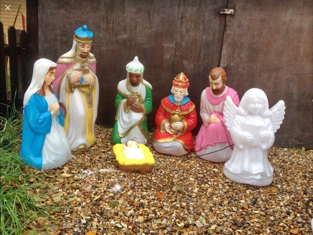 Christmas Nativity Set Outdoor.Wanted Outdoors Christmas Nativity Set In Diss Norfolk