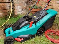 Bosh electric lawnmower