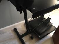 PS3 LOGITEK DRIVING FORCE GT STEERING WHEELWITH STAND