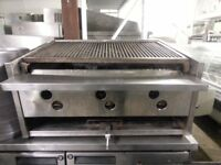 KEBAB GRILL STIL CHARCOAL GRILL TRADITIONAL LONG SHAPE CLASSIC 3 BURNER WITH LAVAROCK