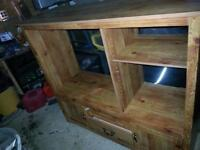 TV entertainment stand with storage
