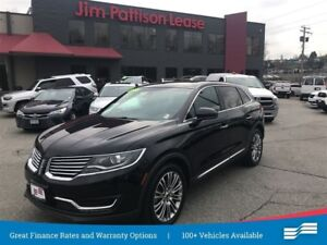 2017 Lincoln MKX Reserve w/ nav, leather, pano roof