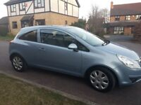 Vauxhall Corsa 1.2 i 16v Club 3dr - MOT until April 2019, 49,500 miles, very good condition