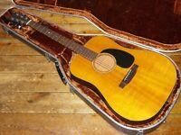 Martin D-18 dreadnought acoustic 1975