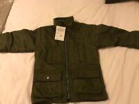 Children's Sage Green Tweed Coat (4-5 years) for sale (new)