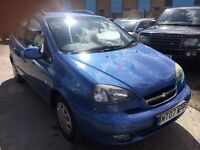 CHEVROLET TACUMA 1.6 PETROL SX MANUAL 2007 LOW MILEAGE 65000 MILES DRIVE NICE FULL HISTORY