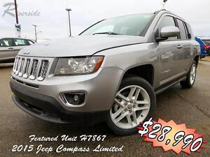 2015 Jeep Compass Limited w/Pop-Down Speakers!